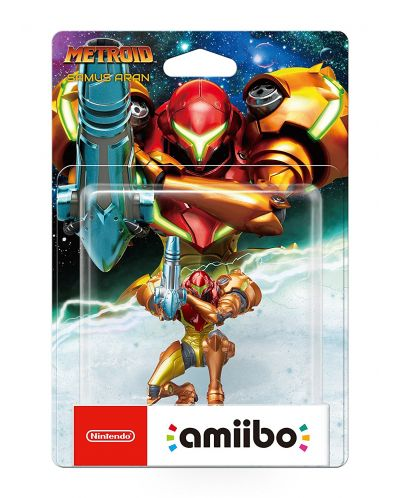 Nintendo Amiibo фигура - Samus Aran [Metroid Samus Returns] - 3